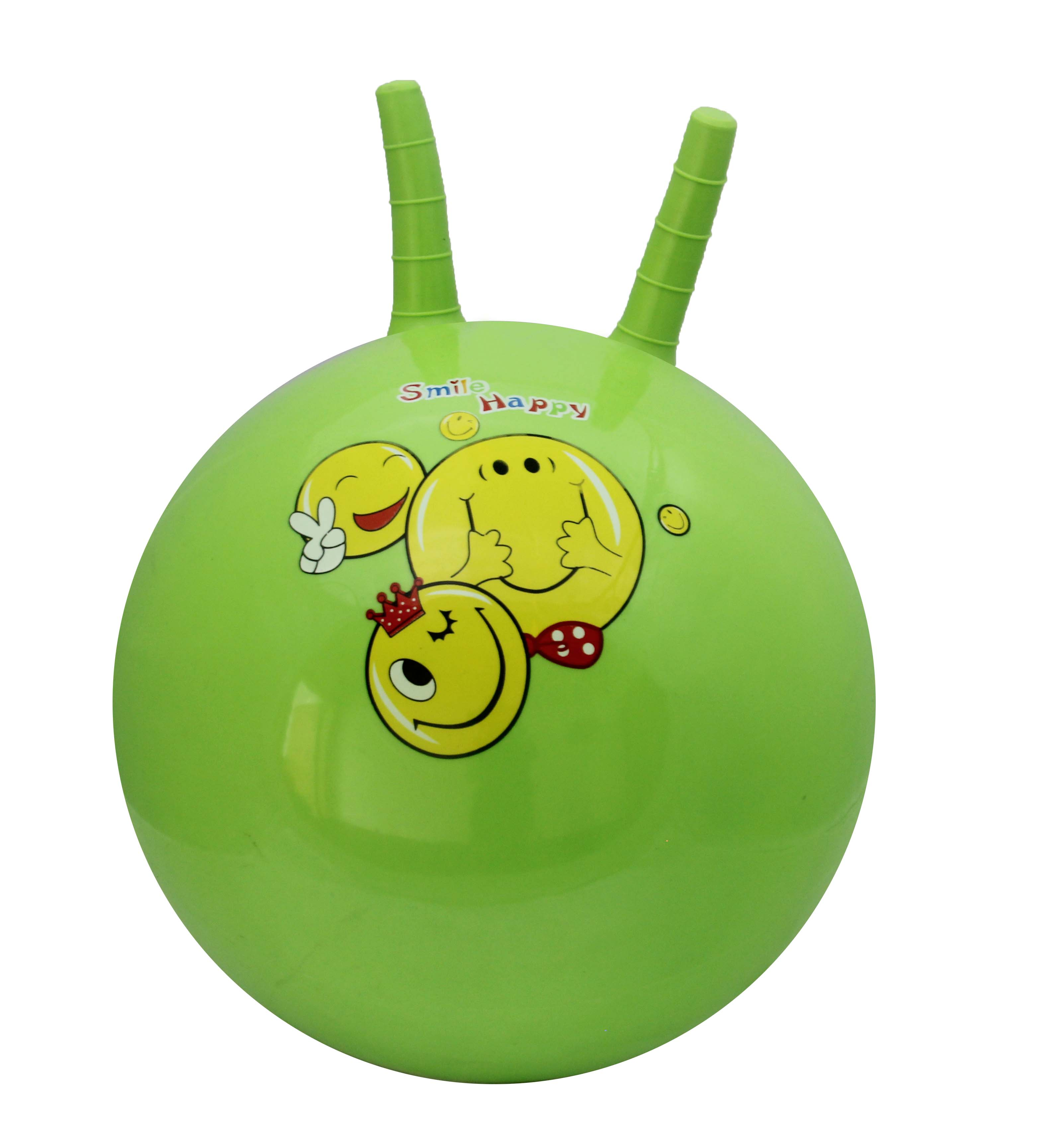 40CM High Quality & Durable Inflatable PVC Hopper Ball with Ears For Kids