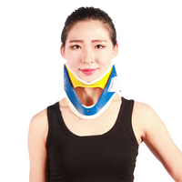 Good quality orthopedic spinal decompression first aid device adjustable type hard medical neck brace / cervical collars on sale