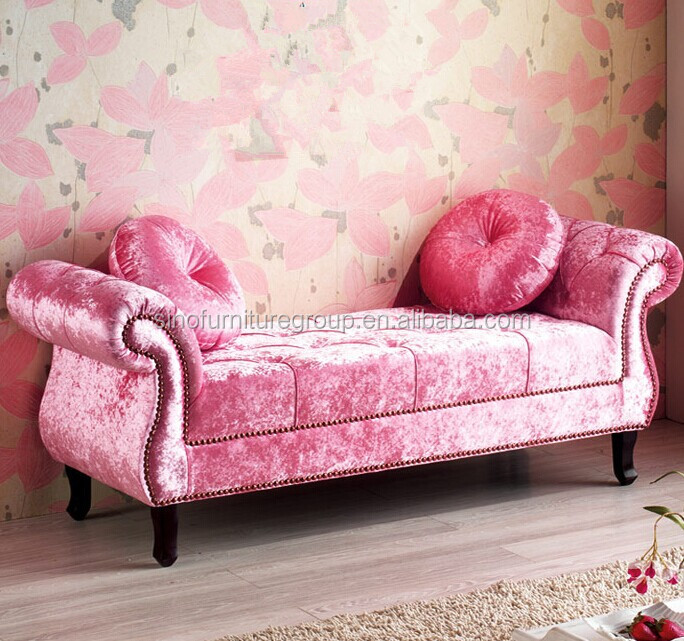 Pink Velvet Sofa, Pink Velvet Sofa Suppliers and Manufacturers at ...