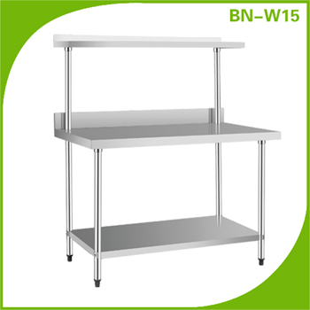 Commercial Stainless Steel Kitchen Prep Table 1.8 Metre Preparation ...