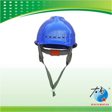 Firm and secure ce safety fashion blue helmet