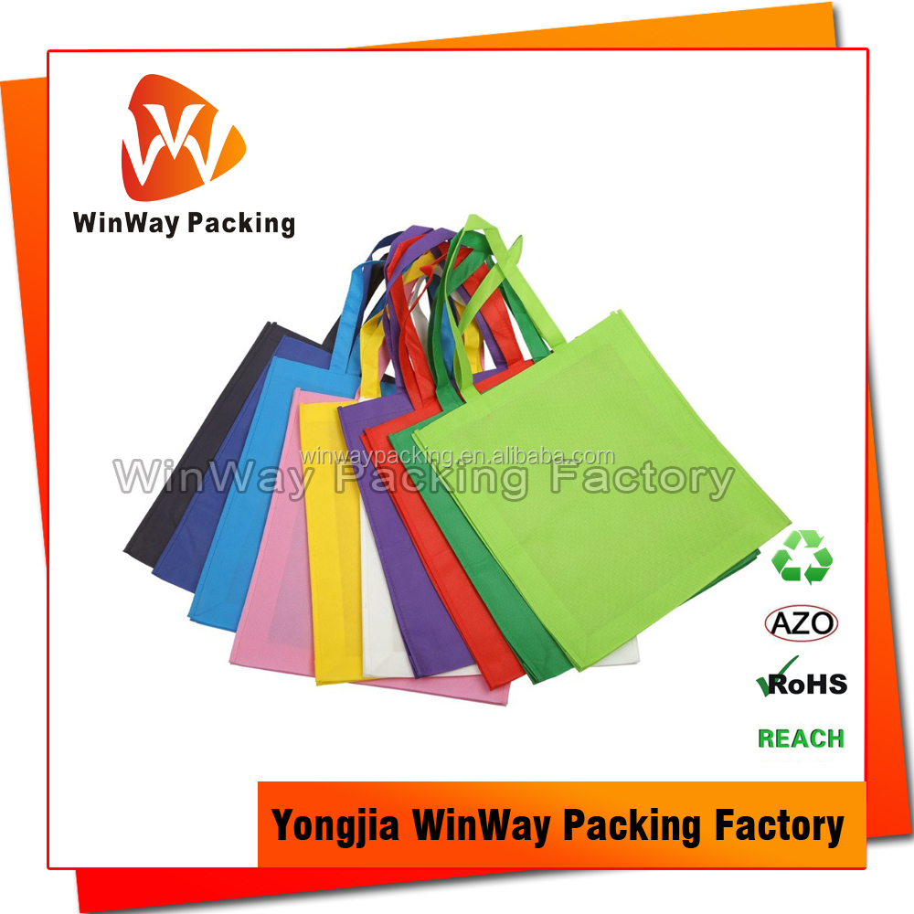 Eco Friendly Non Woven Blank Tote Bag
