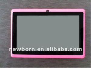 e40b1e37208b5 wholesale high quality 7 inch Android 4.0 tablet PC Allwinner A13 512mhz  DDR3 4G