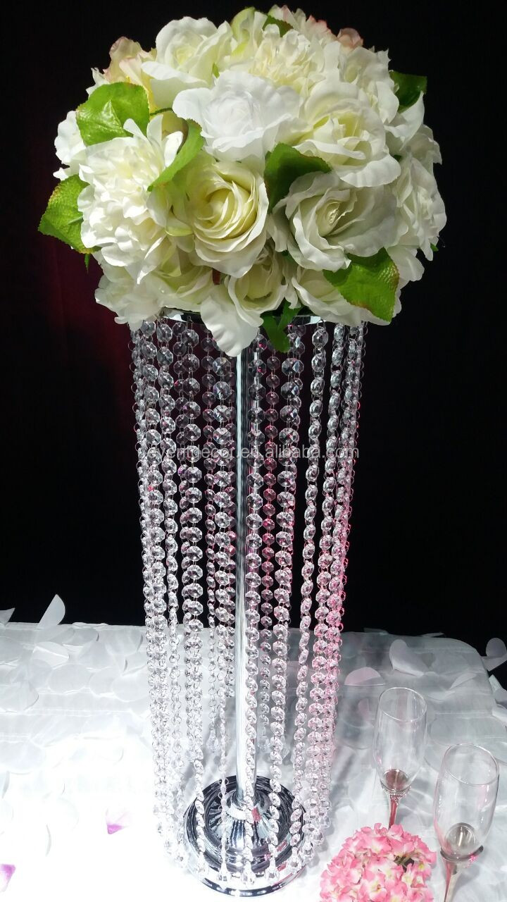 cheap wedding decorations in bulk chandelier table centerpieces for event 2698