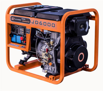 electric generator 5kw air cooled small diesel generator set