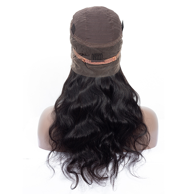 360 Lace Frontal Wig Pre Plucked With Baby <strong>Hair</strong> Brazilian <strong>Body</strong> <strong>Wave</strong> <strong>Human</strong> <strong>Hair</strong> Wigs Remy <strong>Hair</strong> 360 Lace Front Wigs