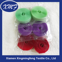 retail packing 2cm elastic velcro tape/male and female stick strap
