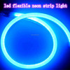 IP68 blue cuttable 2835 220v led flexible neon strip light