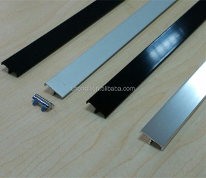 Aluminium trim cabinet door edge profiles laminate countertop edge profiles