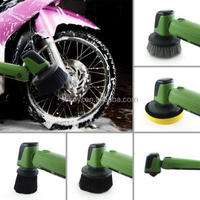 DIY car cleaning tools electric car wheel brush