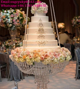 New products hanging cake stands wedding acrylic crystal chandelier new products hanging cake stands wedding acrylic crystal chandelier cake stand for big cake aloadofball Choice Image