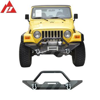 87 06 Jeep Wrangler YJ/TJ Heavy Duty Rock Crawler Front Bumper