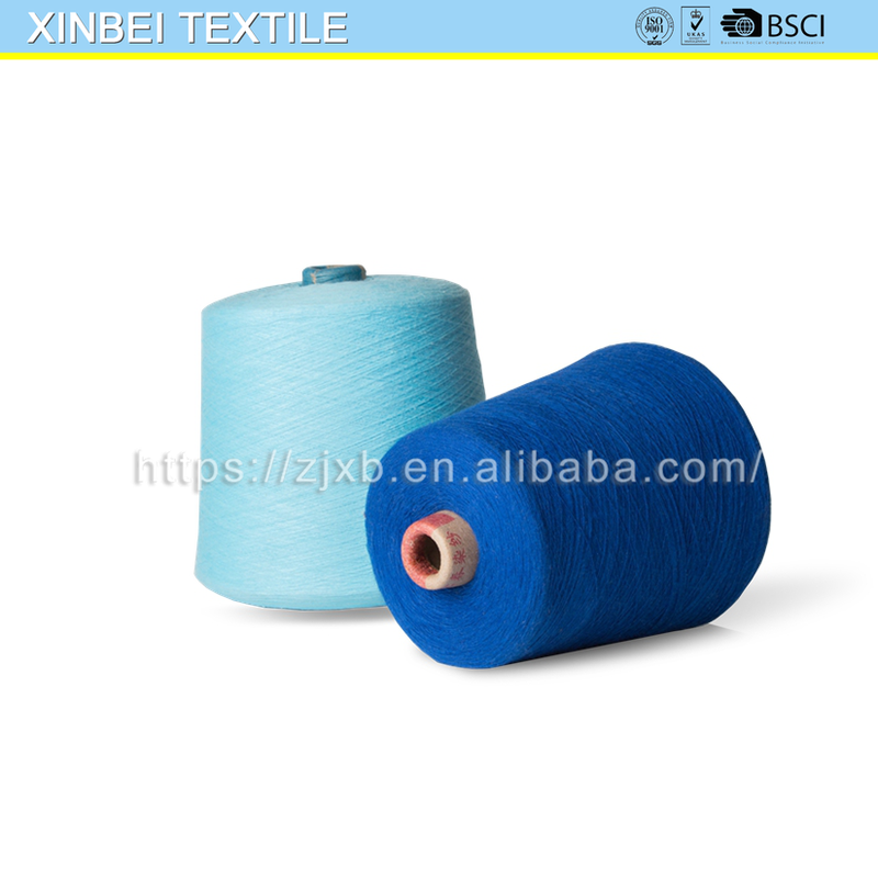 XB- 8-009 tshirt yarn 100% cotton cotton yarn for working gloves contamination free cotton yarn