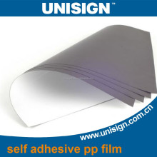 self adhesive sticker PP Synthetic Paper matte/glossy