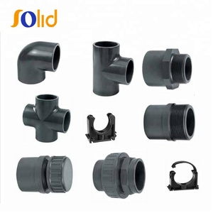 High pressure electrical pvc pipe fittings