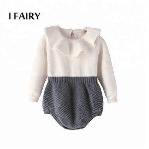 Baby girl cotton infant bodysuit clothes one-piece romper baby outlet clothes