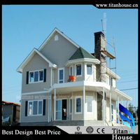 China Cheap Luxury Prefab Steel Homes With High Quality