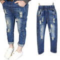 Girls Jeans Summer Style Harem Jeans Kids Pants Girls Causal Full Length Trousers 2 7 Years