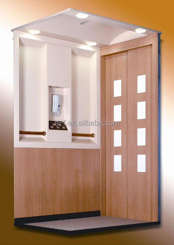 Residential Indoor Home Lift Elevator 4 Persons 320 kg With CE