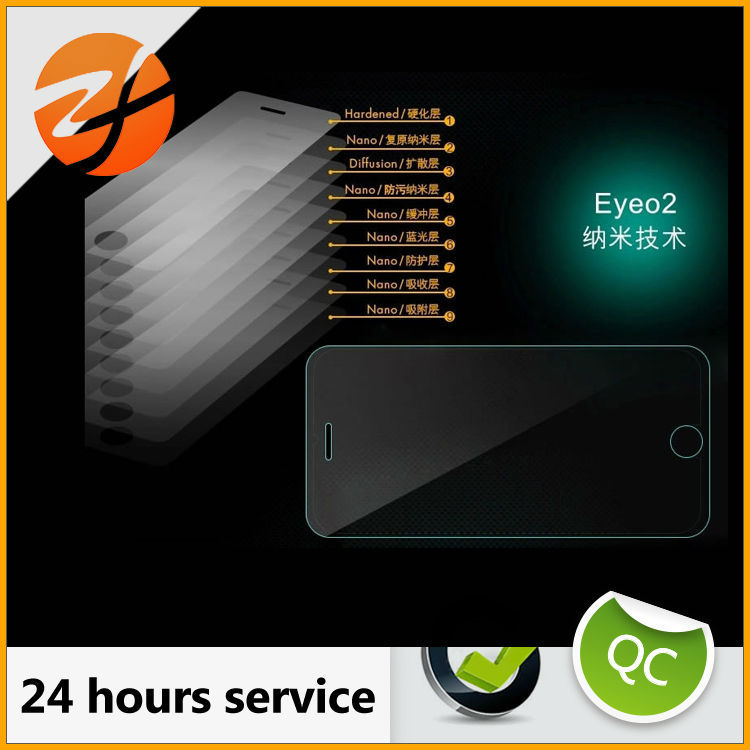 Wholesale price screen protector tempered glass, 9h tempered glass screen protector for Samsung E7