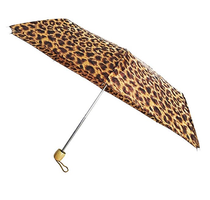 Custom Print Digital 19Inch 6Ribs Manual Open 5 Folds Mini Portable Umbrella
