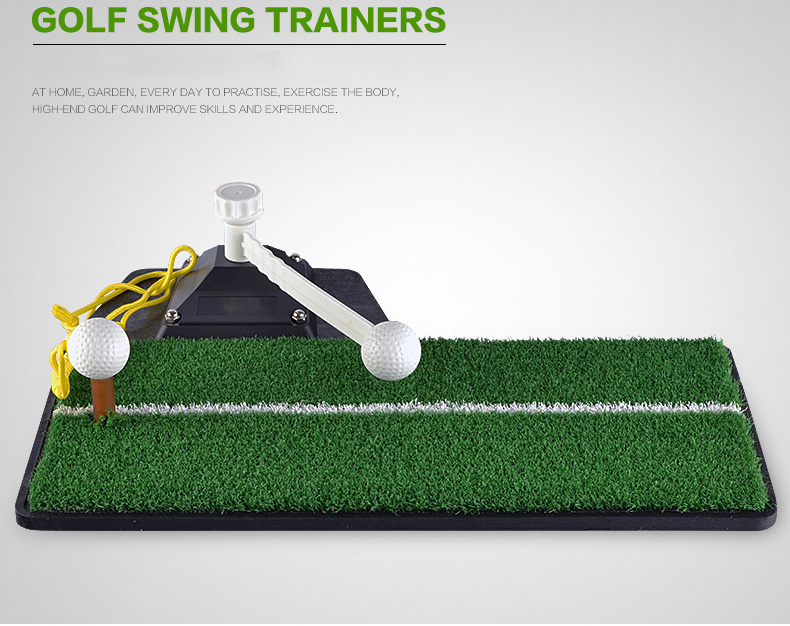 Golf Swing Trainers With Golf Ball and tee