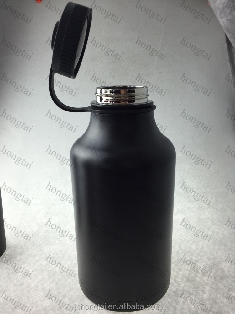 hongtai Stainless Steel Growler, 2016 bpa free stainless steel beer growle ,Vacuum Insulated and Keep Beer Hot or Cold 3 days