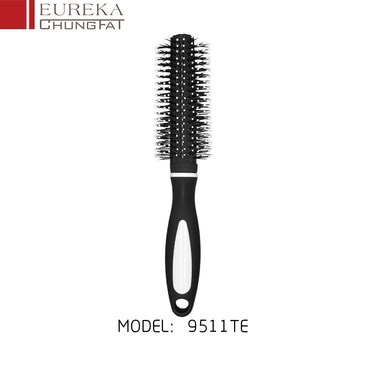 9511TE Soft touch round hair brush