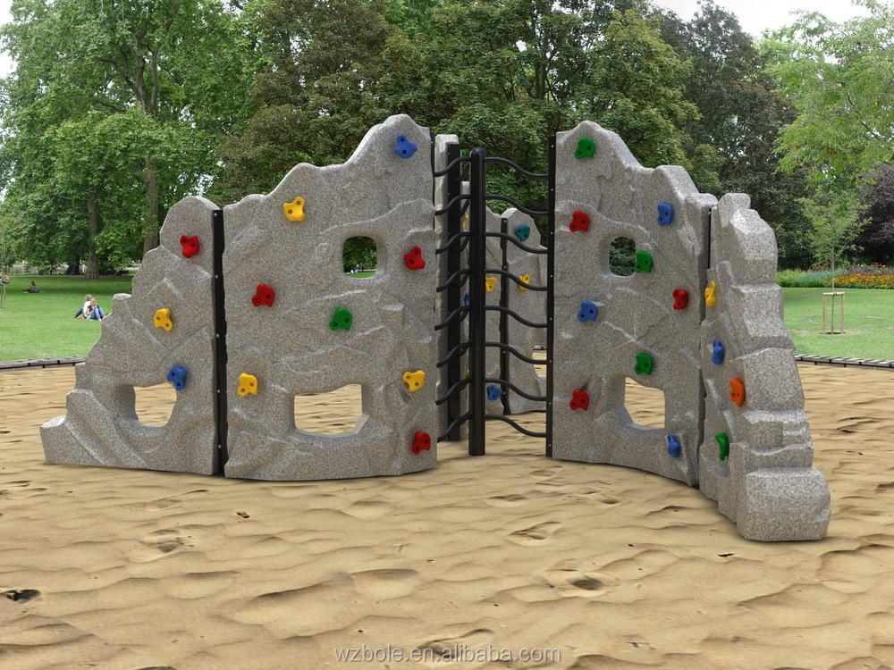 New Product Playground Equipment Rock Climbing Wall ...