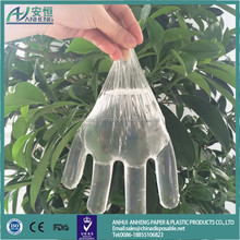 HOT SALE Factory sale Disposable PE sanitary glove wholesale Plastic LDPE HDPE disposable PE gloves for medical using L M size