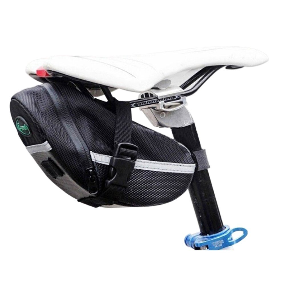 SUPOW(TM) Bicycle Quick Release Waterproof Durable Tail Mountain Bike Road Bike Seat Bag/Kit Straps Bag/Mountain Road Car Cushion Package Kit/Bind Saddle Bag