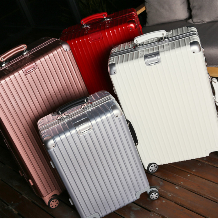 OEM eminent PC trolley suitcase luggage travel bag case with