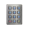 led numeric 12 button access control security keypad rs232 numeric keypad