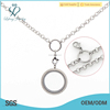 Famous silver chain jewelry designer,silver necklace chains bulk for girl gift