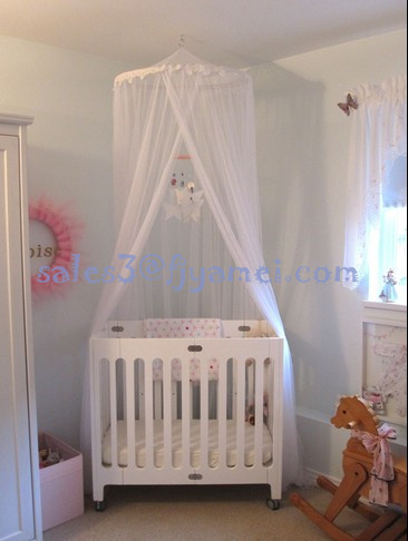 Baby Bed Mosquito Net Crib Canopy Netting : mosquito net canopy for cribs - memphite.com