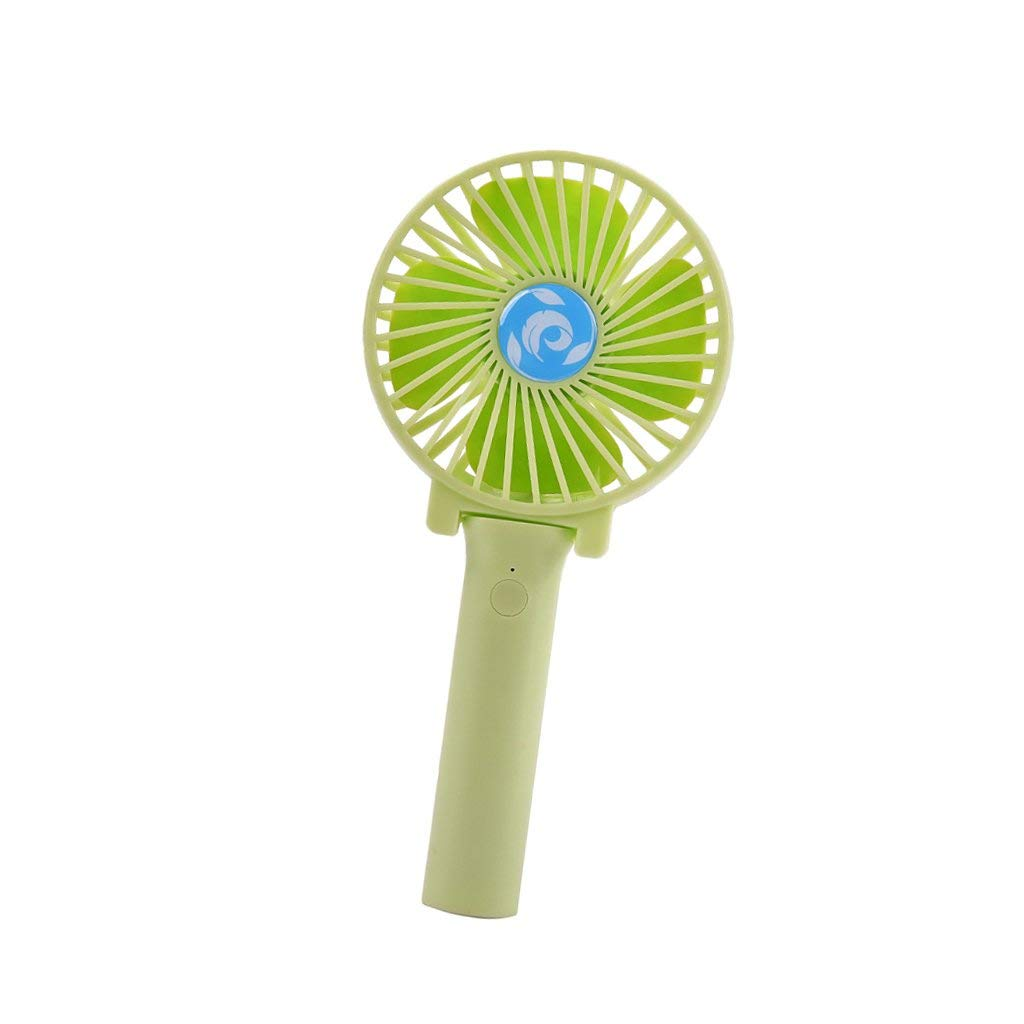 Baoblaze Mini Fan, Portable Handhold Fan, Foldable Handheld Mini Fan USB Power Rechargeable Battery Operated Hand Bar Fans Handheld Fan Rechargeable