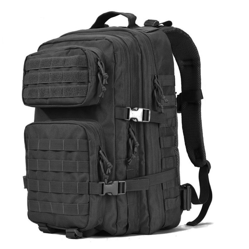 40L black Outdoor Gear Tactical Military Style Survival Gear Backpacking Large Hydration Molle Bug Out Bag 3 Day Assault Pack