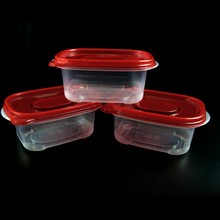 Microwave Safe Plastic Vacuum preservation Food Transparent Crisper Container Box