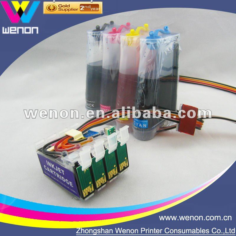 T24 CISS, T1171 Continuous Ink Suppy System, T24 Refill Ink System, 73N Bulk Ink System for Epson Stylus T24