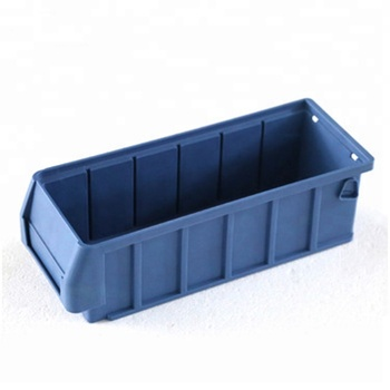 TJG-RK3109 high quality Plastic Storage Tray With Label Stackable Spare Parts Bin