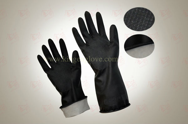 Latex Hand Job Gloves For Industrial