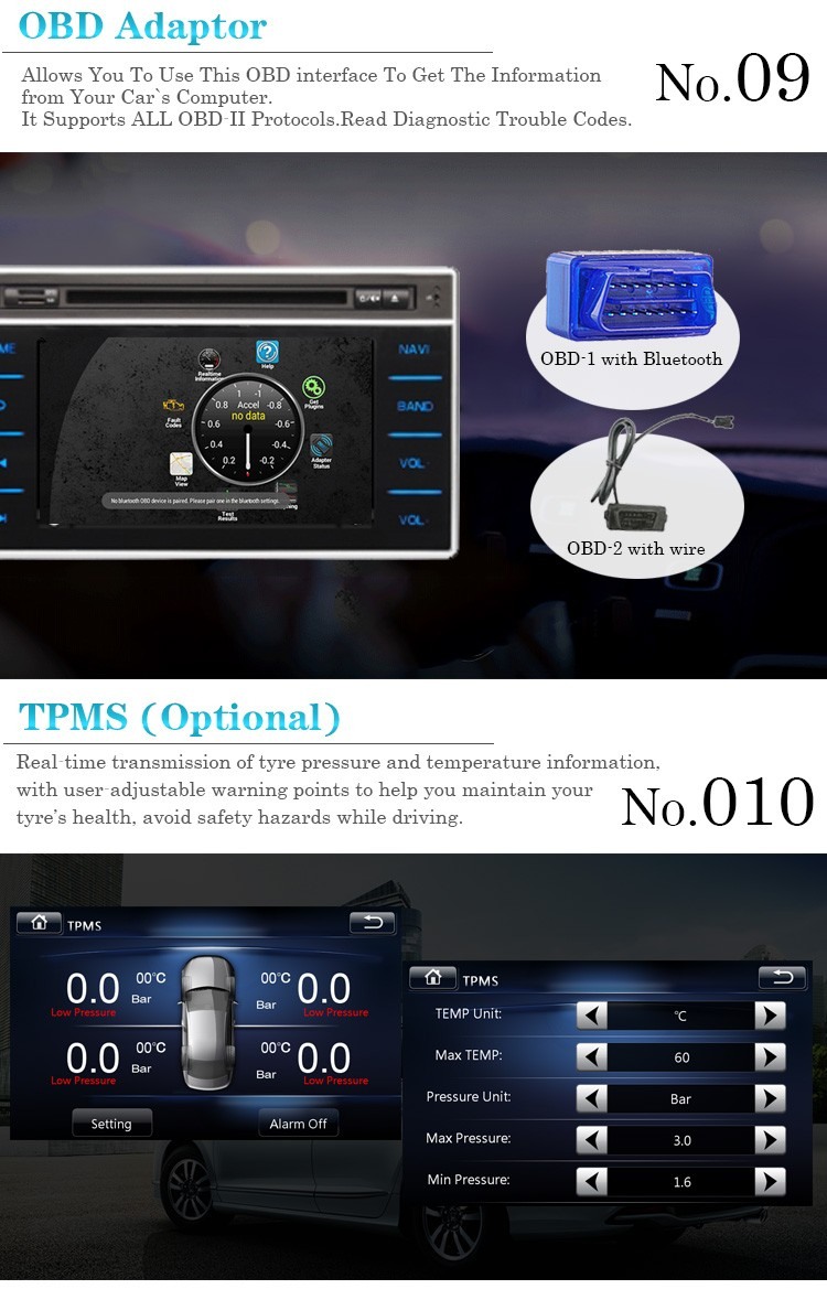 2016 Nuovo prodotto in dash car dvd player Car stereo 2 din autoradio per Ford Ranger 2016