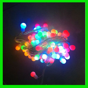 200 Bulbs Outdoor Led Christmas Lights/small Battery Operated Led ...