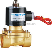 2W Series AC220V DC24V water solenoid valve can change the coils to be as explosion-proof solenoid valve