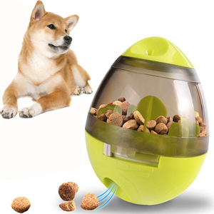 Tumbler Pet Food Ball and Slow Feeder Treat IQ and Mental Stimulation Funny Dog Foraging Toy