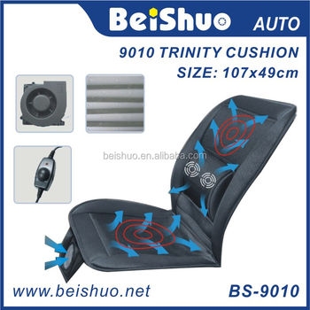 Bs-9010 Cool Wind Car Seat Cushion With Heated And Massage Three In ...