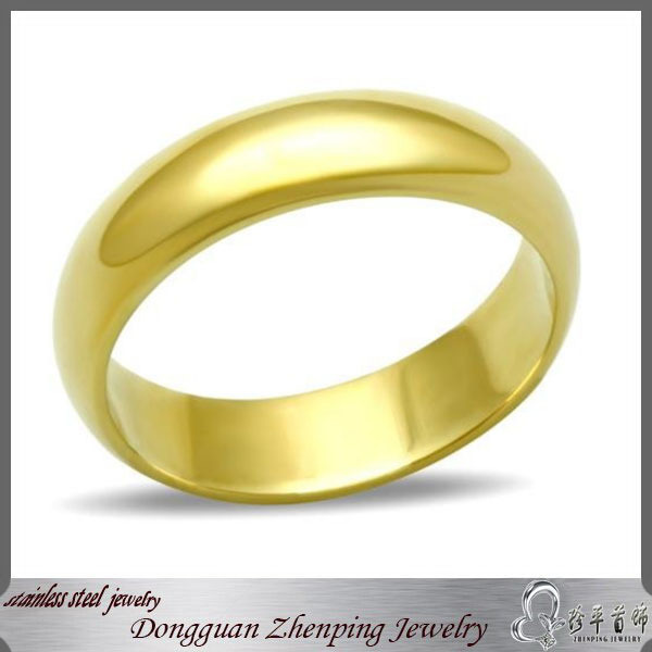 Gold filled jewely simple gold ring designs