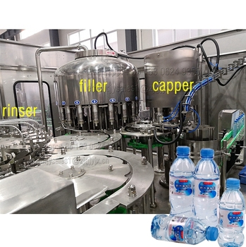 High Quality Automatic PET Bottle Still / Pure / Drinking Water Making Production Machine