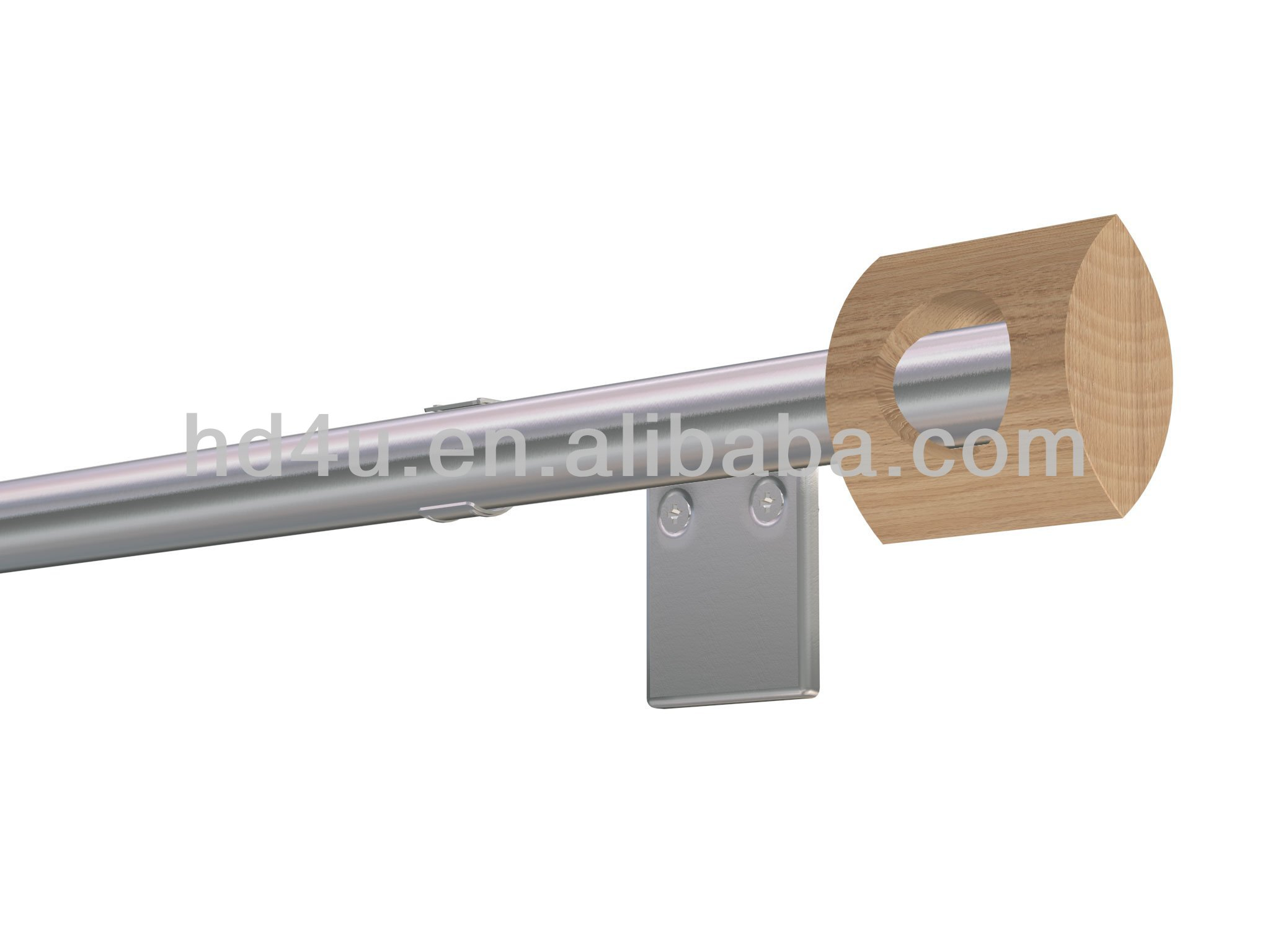 Stainless Steel Curtain Rod, Stainless Steel Curtain Rod Suppliers And  Manufacturers At Alibaba.com