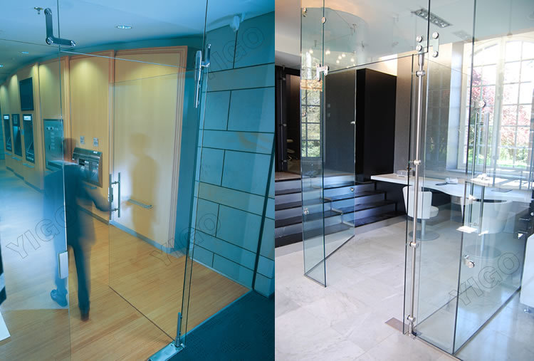 Toughened Glass Room Divider Partition_Glass Partition Wall_Glass  Wall_FOSHAN YIGO HARDWARE LIMITED